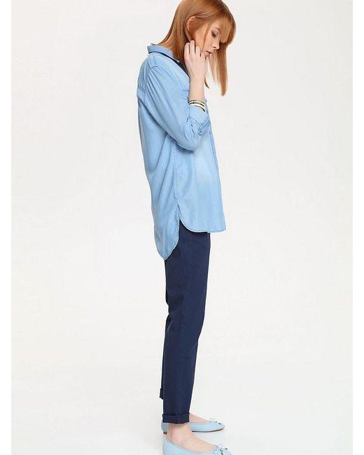 Рубашки Top Secret                                                                                                              голубой цвет