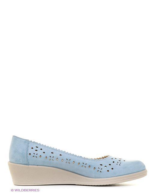 Туфли Marko                                                                                                              голубой цвет