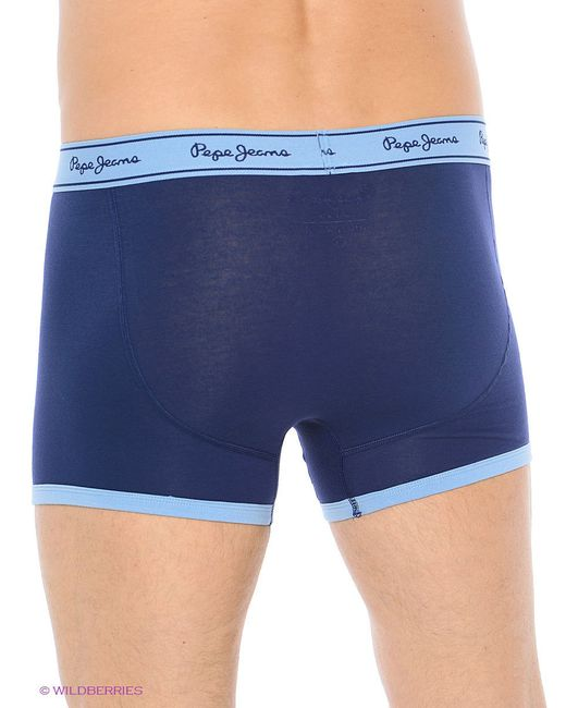 Трусы Pepe Jeans London                                                                                                              синий цвет