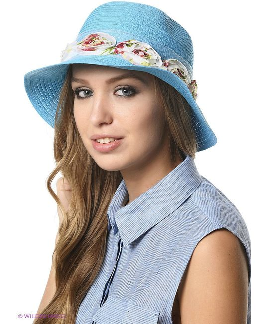 Шляпы Shapkoff                                                                                                              голубой цвет