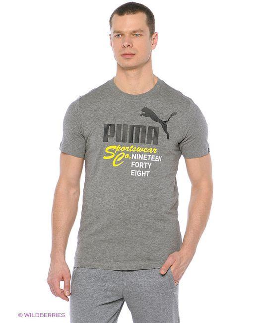 Футболка Puma                                                                                                              серый цвет