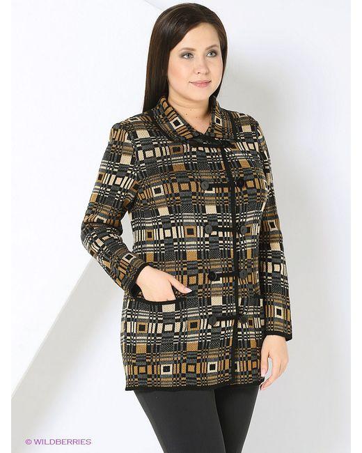 Кардиганы Milana Style                                                                                                              коричневый цвет