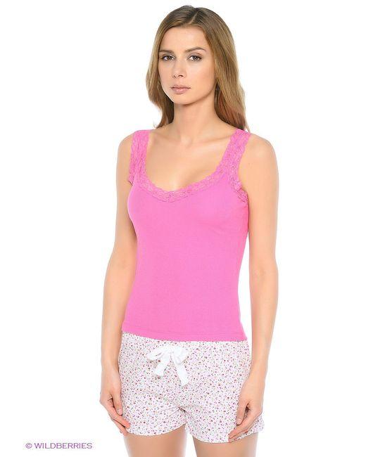 Майка Sela                                                                                                              розовый цвет