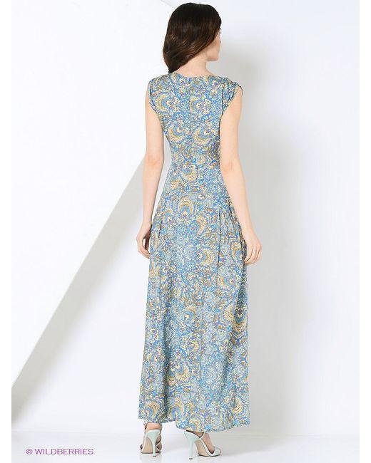 Платья KEY FASHION                                                                                                              голубой цвет