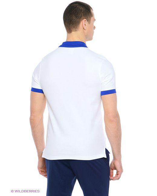 Поло Nike                                                                                                              белый цвет