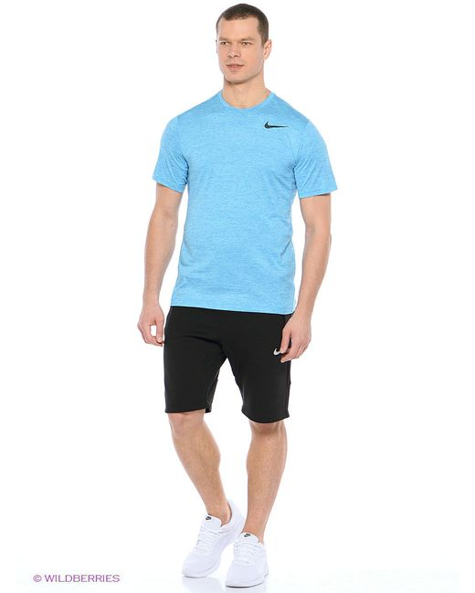 Футболка Nike                                                                                                              голубой цвет
