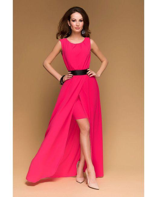Платья 1001 DRESS                                                                                                              Малиновый, Фуксия цвет