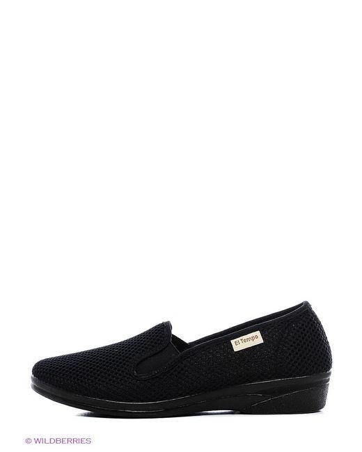 Туфли El Tempo                                                                                                              чёрный цвет