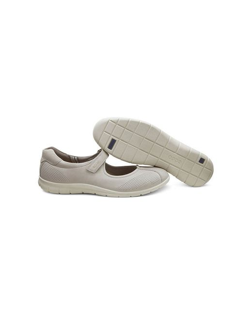 Туфли Ecco                                                                                                              серый цвет