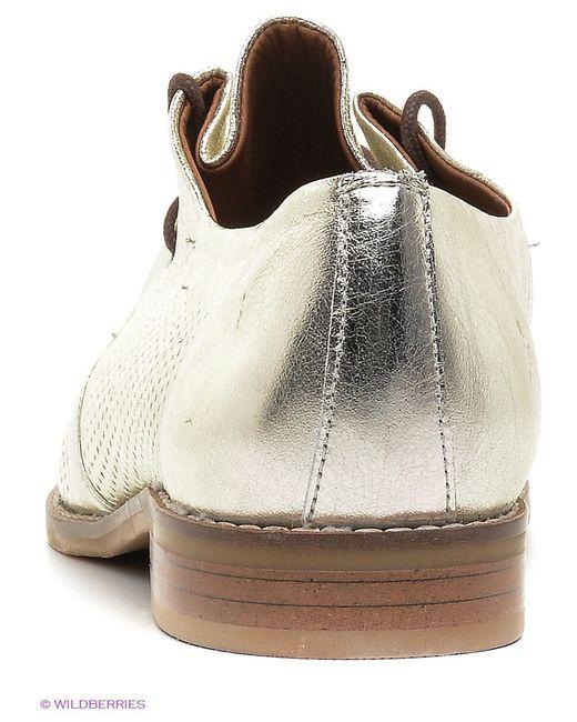 Туфли Roccol                                                                                                              Золотистый цвет