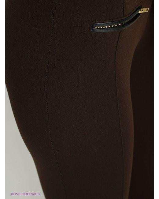 Леггинсы TOPSANDTOPS                                                                                                              коричневый цвет