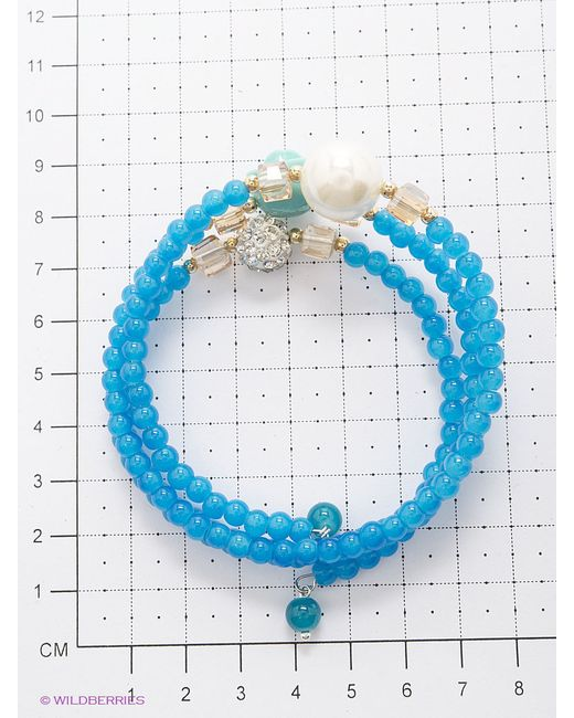 Браслеты Royal Diamond                                                                                                              голубой цвет