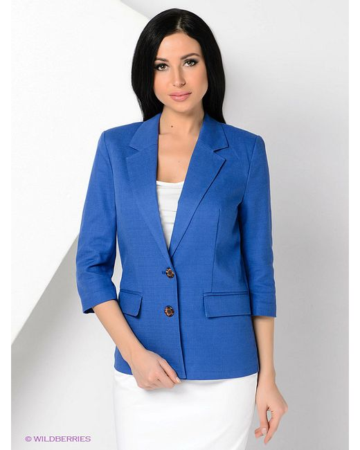 Жакеты Stilla                                                                                                              синий цвет