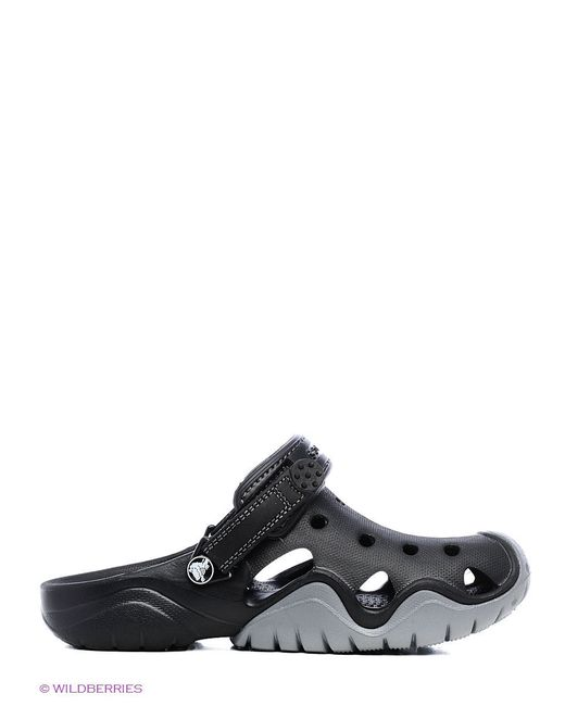 Сабо Crocs                                                                                                              чёрный цвет