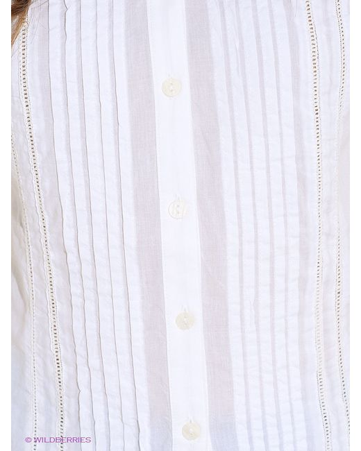 Блузки Finn Flare                                                                                                              белый цвет