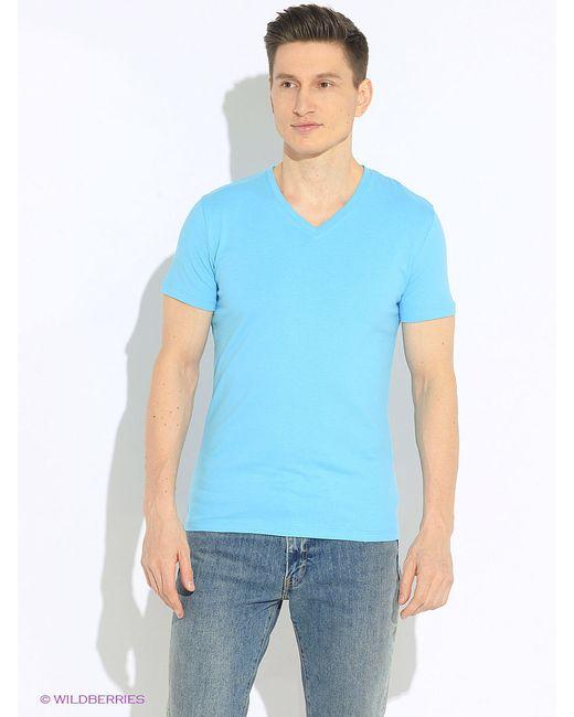 Футболка Oodji                                                                                                              голубой цвет