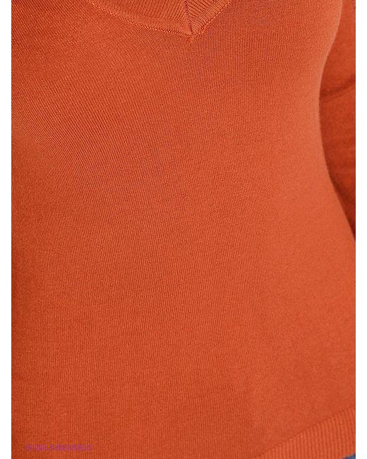 Пуловеры Oodji                                                                                                              оранжевый цвет