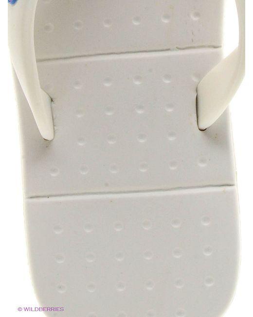 Шлепанцы Mon Ami                                                                                                              белый цвет