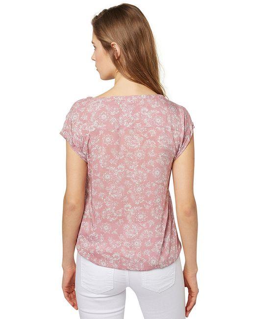 Рубашки TOM TAILOR                                                                                                              розовый цвет