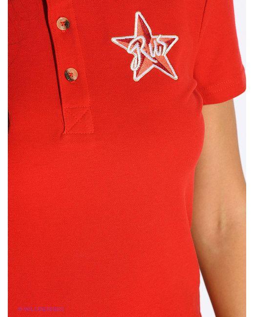Футболка Finn Flare                                                                                                              красный цвет