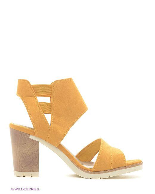 Сандалии Marco Tozzi                                                                                                              желтый цвет