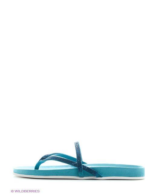 Шлепанцы Inuovo                                                                                                              голубой цвет