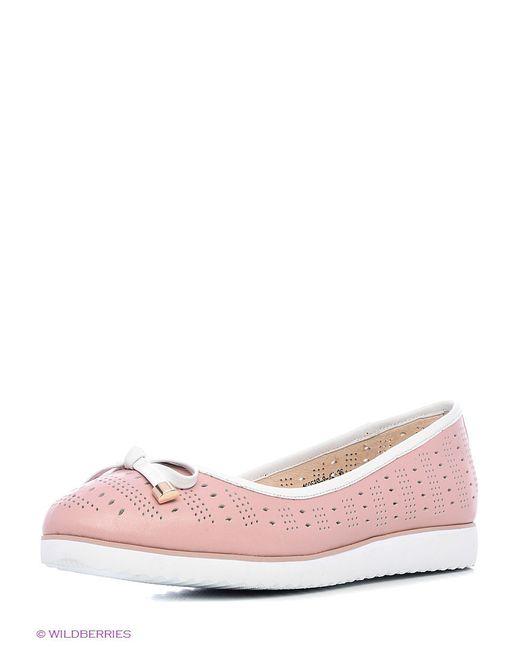 Туфли Renaissance                                                                                                              розовый цвет