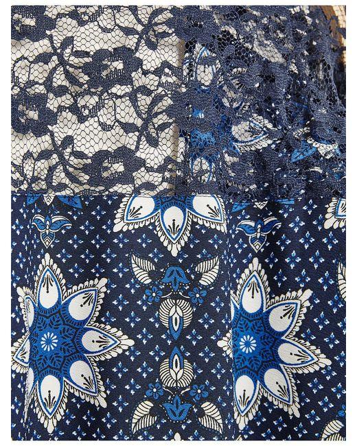 Накидки Jennyfer                                                                                                              синий цвет