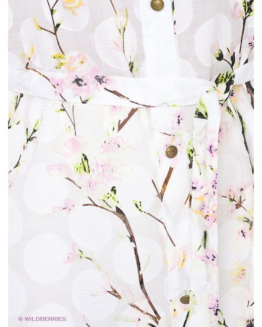 Рубашки La Fleuriss                                                                                                              белый цвет