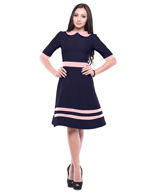 Платья Laura Bettini                                                                                                              синий цвет