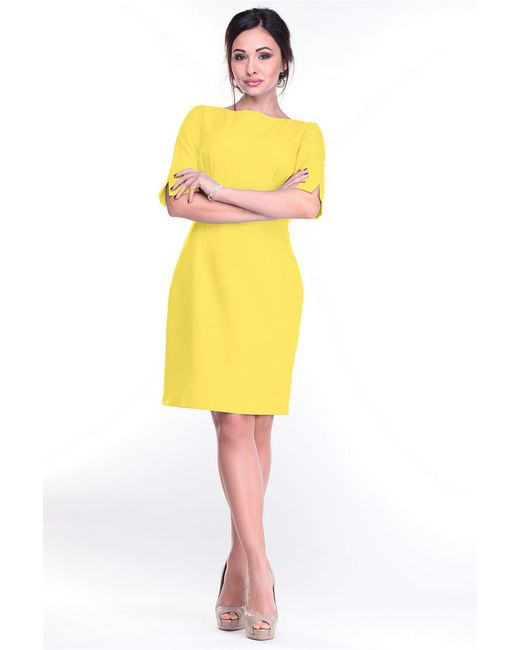 Платья Laura Bettini                                                                                                              желтый цвет