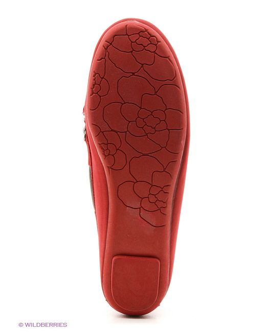 Мокасины Colin's                                                                                                              красный цвет