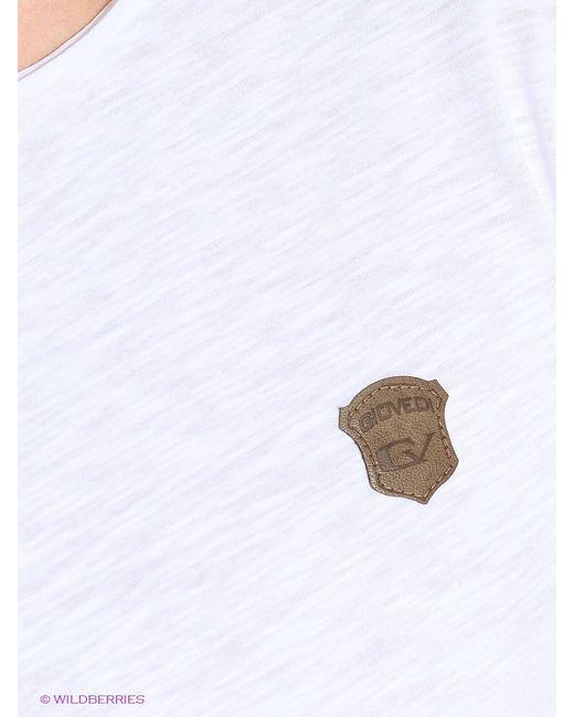 Футболка GiovedI                                                                                                              белый цвет