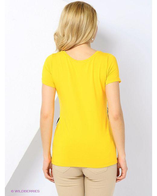 Футболка Braccialini                                                                                                              желтый цвет
