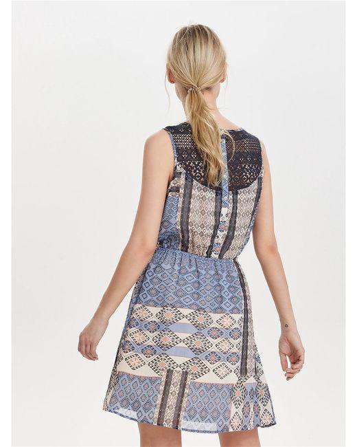 Платья Only                                                                                                              синий цвет