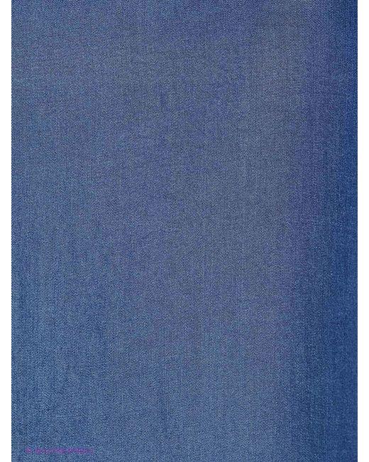 Блузки Oltre                                                                                                              синий цвет