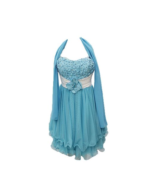 Платья Lawiggi                                                                                                              голубой цвет