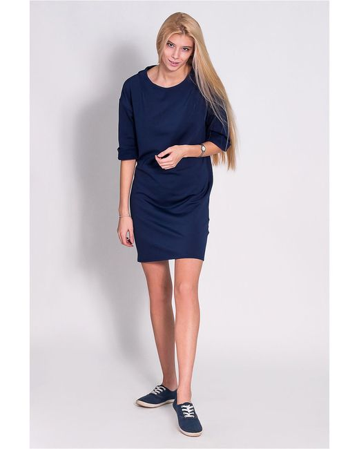Платья JATRAW                                                                                                              синий цвет