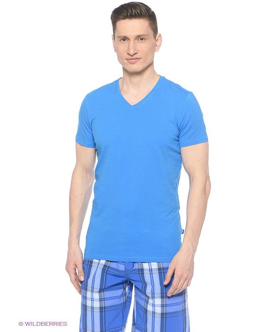Футболка Colin's                                                                                                              синий цвет