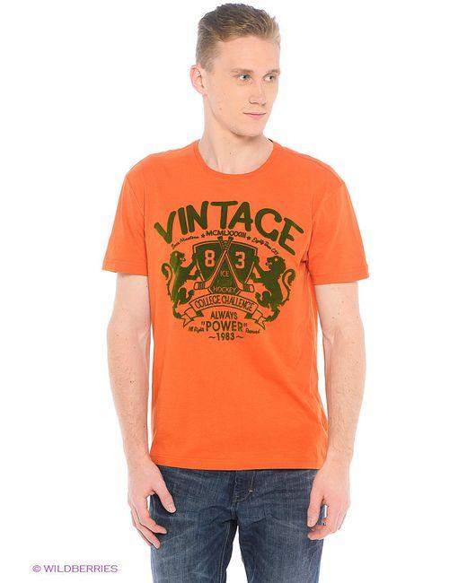 Футболка Colin's                                                                                                              оранжевый цвет