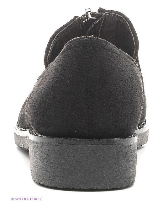 Туфли Admlis                                                                                                              чёрный цвет