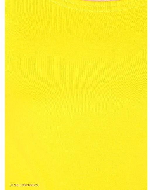 Футболка Mondigo                                                                                                              желтый цвет