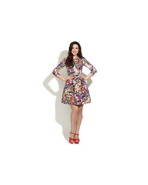 Платья Donna Saggia                                                                                                              фиолетовый цвет
