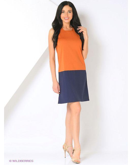 Платья BERTEN                                                                                                              оранжевый цвет