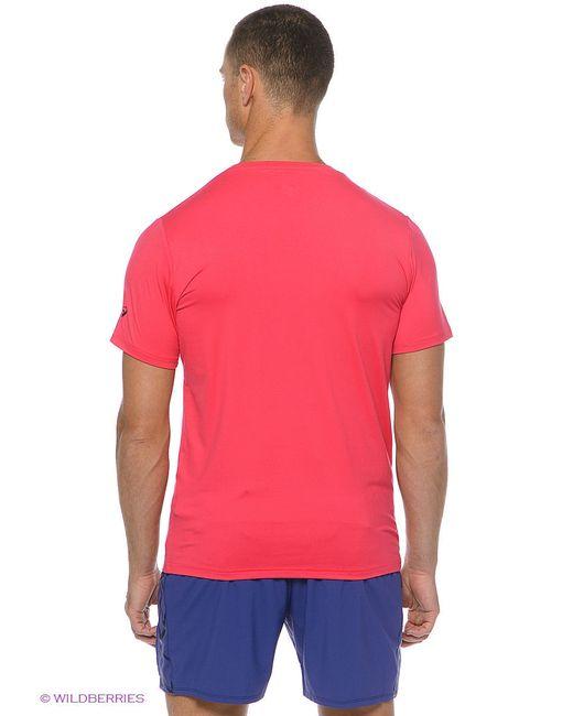 Футболка Asics                                                                                                              красный цвет