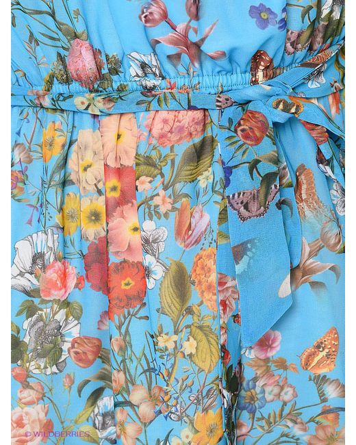 Платья ADL                                                                                                              Бирюзовый цвет