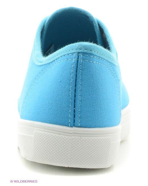 Кеды З&Я                                                                                                              синий цвет