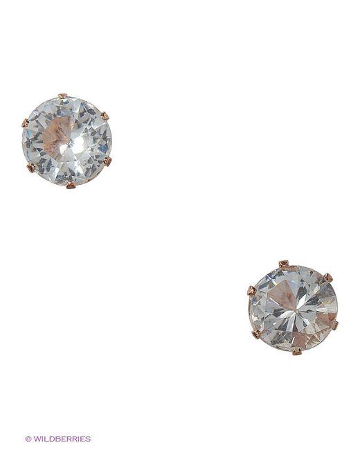 Серьги Lovely Jewelry                                                                                                              белый цвет