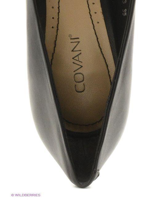 Туфли Covani                                                                                                              чёрный цвет
