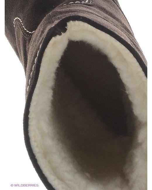 Полусапожки Laura Valorosa                                                                                                              коричневый цвет